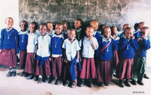 Children at Bright Stars Nursery School