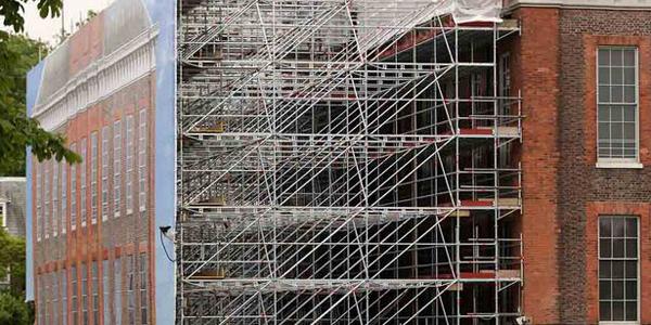 Kensington Palace renovation work