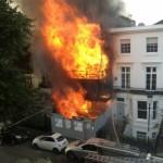 House fire in Kensington