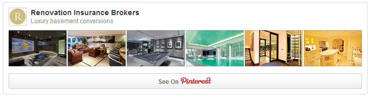 Pinterest: Luxury basement conversions
