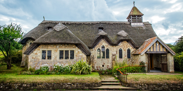 thatched-church